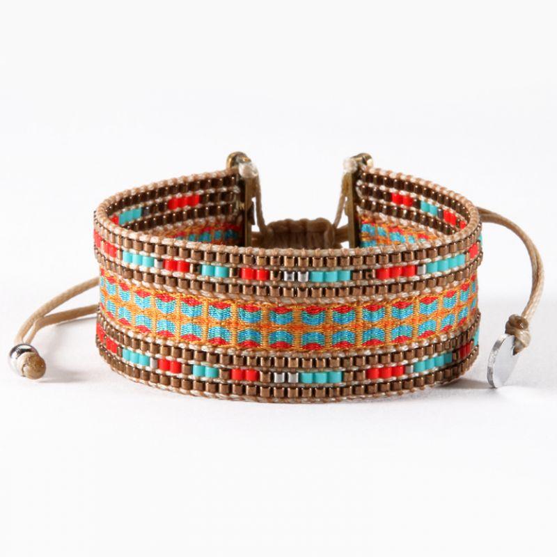 Bracelet COLLAGE BROWN MINI